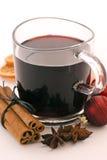 Perforateur chaud de vin Photo stock