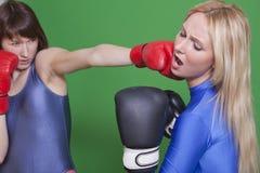 Perforateur de boxe Images libres de droits