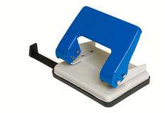 Perforateur de papier de bureau Images libres de droits