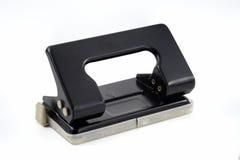 Perforateur de trou de papier de bureau Images libres de droits