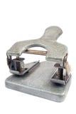 Perforateur de trou de papier de bureau de cru Photographie stock libre de droits