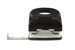 Perforateur de trou noir d'isolement sur le fond blanc Photos libres de droits