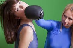 Perforateur de visage de boxe Image libre de droits