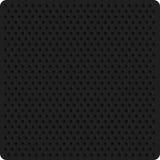 Perforation dark background. Texture perforation on dark material. Vector perforated background stock illustration