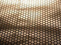 Perforation texture 1. Close up on perfored steel stock photos