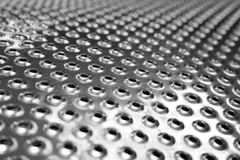 Perforation of Washer-Extracto. Macro photo of perforation of Washer-Extractor drum Stock Images