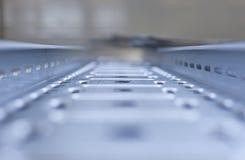 Perfored metalu talerz Obraz Stock