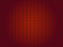 Perforerad röd bakgrund Royaltyfri Fotografi