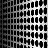 perforerad vektorvägg Arkivbild