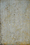 Perforierte Blechtafel Stockfoto