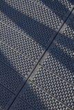Perforierte Stahlplatten Stockfotografie