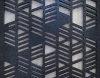 Perforierte Wand Lizenzfreies Stockfoto