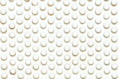 Perforierter Edelstahl mit Leuchte voran und ist Stockbilder