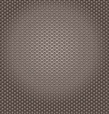 Perforierter Metallhintergrund stock abbildung