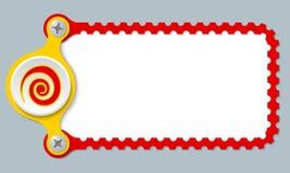 Perforierter Rahmen Stockfoto