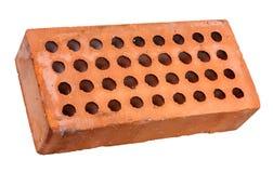 Perforierter Ziegelstein Stockfoto