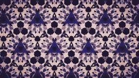 Perforiertes geomatics weiße und blaue Farbtapete Lizenzfreie Stockbilder