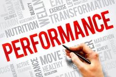 Performance Photographie stock libre de droits