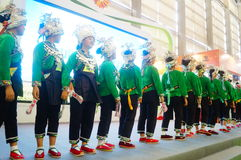 Performance activities, the Fifth China Charity Project Exchange Exhibition Stock Image