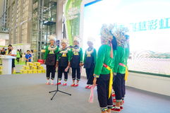 Performance activities, the Fifth China Charity Project Exchange Exhibition Royalty Free Stock Photos