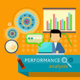 Performance Analysis Banner. Search for Solutions Stock Images