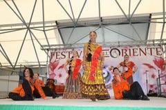 Performance of Bollymasala Dance Company Royalty Free Stock Photography