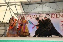 Performance of Bollymasala Dance Company Stock Image