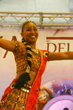 Performance of Bollymasala Dance Company Royalty Free Stock Images