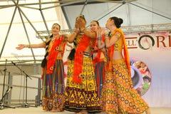 Performance of Bollymasala Dance Company Royalty Free Stock Photos