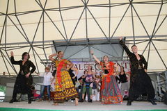 Performance of Bollymasala Dance Company Stock Image