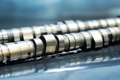 Performance camshafts Royalty Free Stock Images