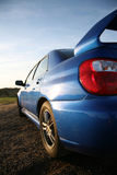 Performance Car. Subaru Impreza - Concept of Fast Performance Vehicles stock photo