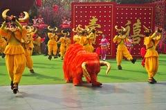 Performance of dancing ensemble Stock Photo