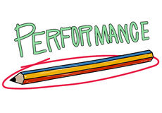 Performance Efficiency Improve Skill Strategy Concept Stock Image