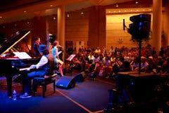 Performance at Esplanade Singapore Royalty Free Stock Photos
