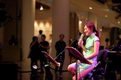 Performance at Esplanade Singapore Stock Images