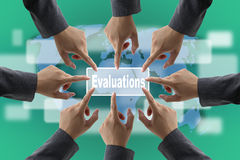 Performance Evaluation Audit Team Royalty Free Stock Images