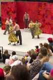 Performance in front of Confederation Centre of the Arts in Cana Royalty Free Stock Images