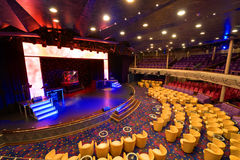 Performance Hall Royalty Free Stock Image