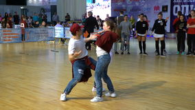 Free Performance Hip-hop Dancers. Royalty Free Stock Images - 91581809