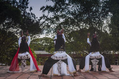 Performance at historical site Royalty Free Stock Images