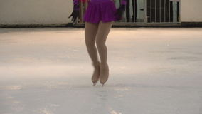 Performance on Ice stock video footage