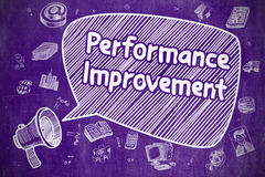 Performance Improvement - Business Concept. Stock Images