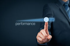 Performance increase Royalty Free Stock Photos