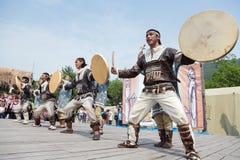 Performance of the KORITEV - Kamchatka National Youth Dance Ensemble Stock Photography
