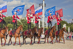 Performance Kremlin Riding School Stock Image