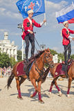 Performance Kremlin Riding School Royalty Free Stock Photography