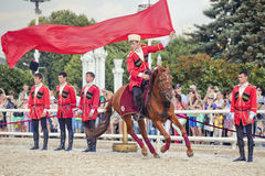 Performance Kremlin Riding School Royalty Free Stock Photos