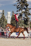 Performance Kremlin Riding School Royalty Free Stock Images