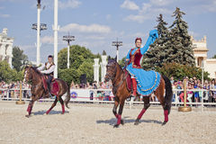 Performance Kremlin Riding School Stock Images